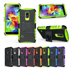 New Fashion Top Hybrid Protect Case Cover For Samsung Galaxy S5 Mini G800 Phone
