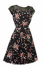 New Plus Size Vintage 1930's 40's WW2 Wartime Swing Tea Party Dress