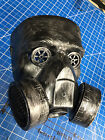 Steampunk Gas mask Halloween man costume comiccon burning