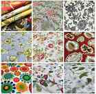 Patterned Cotton Fabrics Samples for custom made sofa covers and chair covers