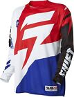 Shift MX 2016 Faction Jersey - White / Red Motocross Offroad Enduro