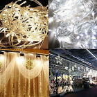 10M 100 LED White/Warm Outdoor Xmas Party String Fairy Wedding Decor Light Lamp