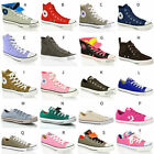 UNISEX CONVERSE ALL STAR CT HI LO TOP CANVAS LEATHER TRAINERS SHOES SIZE 4