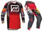 NEW 2016 FLY RACING EVOLUTION 2.0 MX GEAR COMBO CODE BLACK/RED/YELLOW ALL SIZES