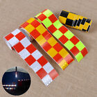 "2""X118"" Chequer Reflective Safety Warning Conspicuity Tape Marking Film Sticker"