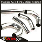 Stainless Steel Bend Intercooler Pipe Piping Degree 15 45 90 135 180 Straight