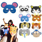 Fancy Animal Masks Kid's Jungle Dress-up Adults Birthday Party Loot Bag Fillers