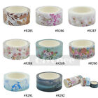 Floral Washi Tape Paper Sticky Adhesive Sticker Decor DIY Xmas Gift 2cm X 8M