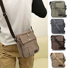 Vintage Mens Small Canvas Causal Satchel Shoulder Travel Small Messenger Bag hot