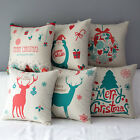 New Christmas Gift Cushion Cover Decorative Throw Pillow Case Square Sofa Home