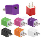 1A US Plug USB Travel AC Power Wall Charger Adapter For iPhone 5 5S HTC Samsung