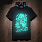 Tokyo Ghoul  Men T-shirt Leisure Varnish  Neon Glow in Dark Xmas Gift