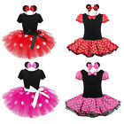 Halloween MINNIE MOUSE Girl Baby Birthday Party XMAS Costume Fancy Tutu Dress Up