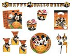 Disney MICKEY MOUSE HALLOWEEN PARTY TABLEWARE RANGE {Unique}