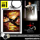 Madonna KEYCHAIN  + BUTTON or MAGNET or MIRROR mdna  tour badge key ring #1623