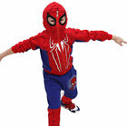Boy Baby Kid Spiderman Set Cosplay Costume Tops+Pants Trousers Halloween Clothes