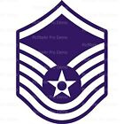 air force cake topper - Air Force Master Sgt Insignia Frosting Sheet Cake Topper ~ Edible ~ D20438