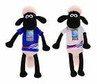 Shaun the Sheep 23 cm England Rugby World Cup 2015 Bean Soft Toy Plush Teddy