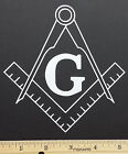 Masonic Vinyl Decal/Sticker-12 Colors - Freemason, Mason, Government