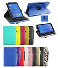 "New Universal Leather Case Cover Stand for Android  9"" to 10"" Tablet & Stylus"