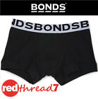 BONDS Boys Black Fit Trunk Underwear Trunks Boxers Shorts Boyleg Size 8 10 12 14