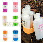 3 In 1 Travel Plastic Empty Shampoo Skin Bath Cream Storage Bottle Container Set