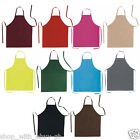 COTTON APRON - BN KITCHEN CHEF COOKING APRON WITH FRONT POCKET - WAITER BISTRO