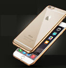 Luxury TPU Thin Luxury Electroplat Golden Case Cover for Apple iPhone 6 6Plus