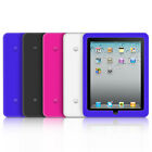 SOFT TOUCH SILICONE GEL FITTED SKIN CASE COVER FOR iPAD 1