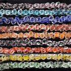 14mm Strand Crystal Glass Rose Flower Shaped Loose Beads Jewelry Findings DIY