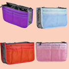 Organizer Pouch Cosmetic Toiletry Bag Zippered Travel Insert Makeup Bag 4 Colors