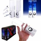 RC-S01 LED Light Dancing Water Speaker Creative Music Box USB for PC