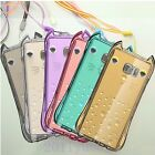 Cute Owl Shockproof Clear Hard Case Cover For iPhone 5/5S/6/6 Plus + Neck Strap