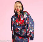 New Adidas Originals Rita Ora Roses Flower Hoodie Sweater S M UK 12 14 16 Rare!