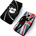 Spy Designs Printed Faux Leather Flip Phone Cover Case Bond Inspired $12.35 USD on eBay