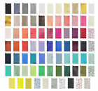 Fabric Swatches To Match Our Range Of Mens/ Boys Skinny Ties In Various Colours