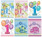 1st Birthday 8 Party Loot Bags (First/Boy/Girl/Children/Favours/party) (Unique)