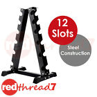 Everfit Vertical Dumbbell Rack 6 Pair Storage Hex Weight Stand Home Gym Fitness