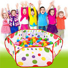 Внешний вид - Foldable Kids Children Ocean Ball Pit Pool Game Play Toy Tent Baby Safe Playpen