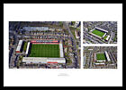 Brentford FC Griffin Park Stadium Aerial View Photo Memorabilia (MU1)