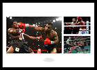 Mike Tyson Triple Photo Montage Boxing Memorabilia (TYMU01)