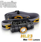 Fenix HL23 Cree R5 LED 150LM 3Mo AA Battery Rotatable Head Torch Lamp Flashligh