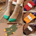 New Women's Casual Cotton Socks  Multi-Color Fashion Dress Mens Socks Winter hot