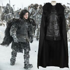 Game of Thrones V Jon Snow Cosplay Costume Fancy Party Men Outfit