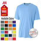 NEW A4 Men's Workout Running Cooling 100% Polyester Performance T-Shirt M-N3124