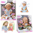 Nenuco Interactive Baby Doll's - Learn To Eat or Happy Hiccups Girl's Toy Doll