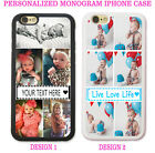 PERSONALIZED PHOTO COLLAGE Case Cover For iPhone 11 XR XS X 8 7 6 Custom Picture