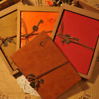 Retro Vintage Leather String Key Notebook Diary Memo Journal Sketchbook