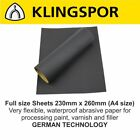 WET AND DRY SANDPAPER Sand Paper 60 - 2500 GRIT KLINGSPOR German Mixed Grits