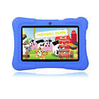 2016 Quad Core 7'' Tablet 16GB HD Android 4.4 Dual Camera Bundle for Kids Gift